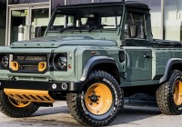 Defender single cab gets Kahn treatment