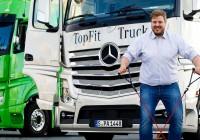 Mercedes-Benz Trucks Help Keep Drivers Fit