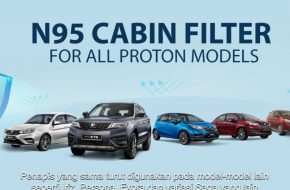 N95 Cabin Filter Now Available for All Proton Models – RM50 Saja