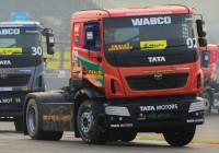 Tata Prima's Race Challenge In Truck Racing 2015
