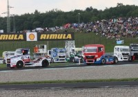 Shell Rimula truck racing in Prague