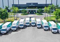 THACO Donates 126 FUSO Trucks to Help Frontlinters in Vietnam